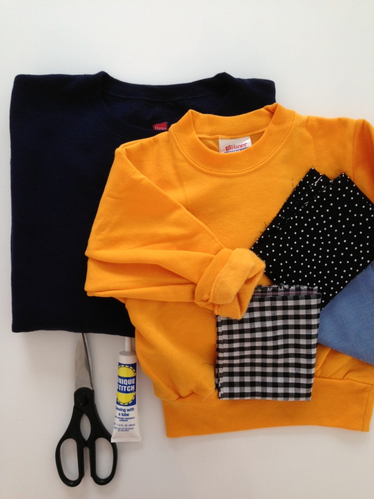 DIY: No-Sew Heart Sweatshirt // The Little Things We Do