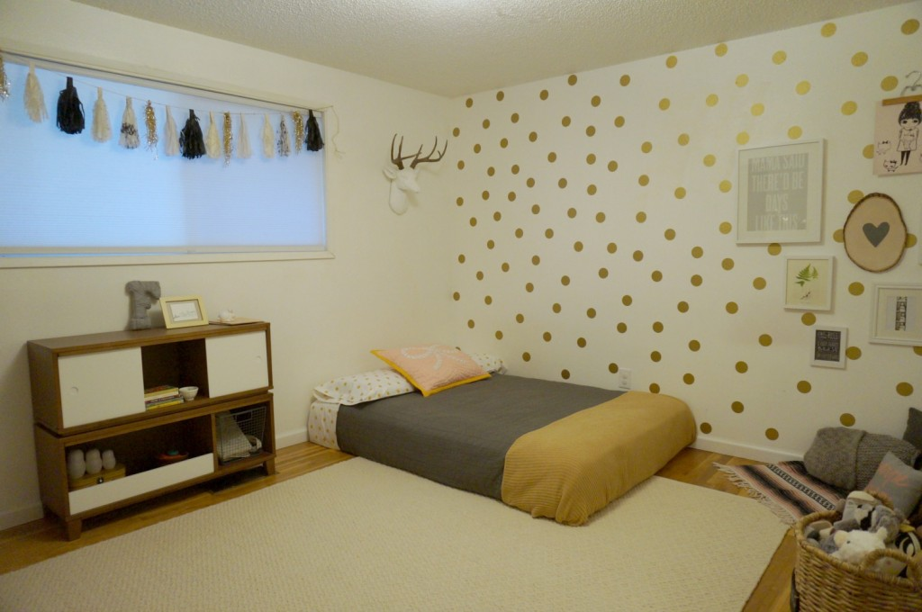 Fern's Big Girl Room Redesign // The Little Things We Do