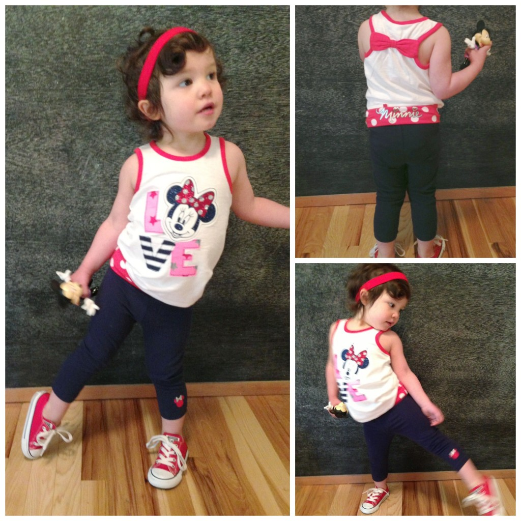 What Fern Wore: Kohl's Disney Jumping Beans // @ The Little Things We Do