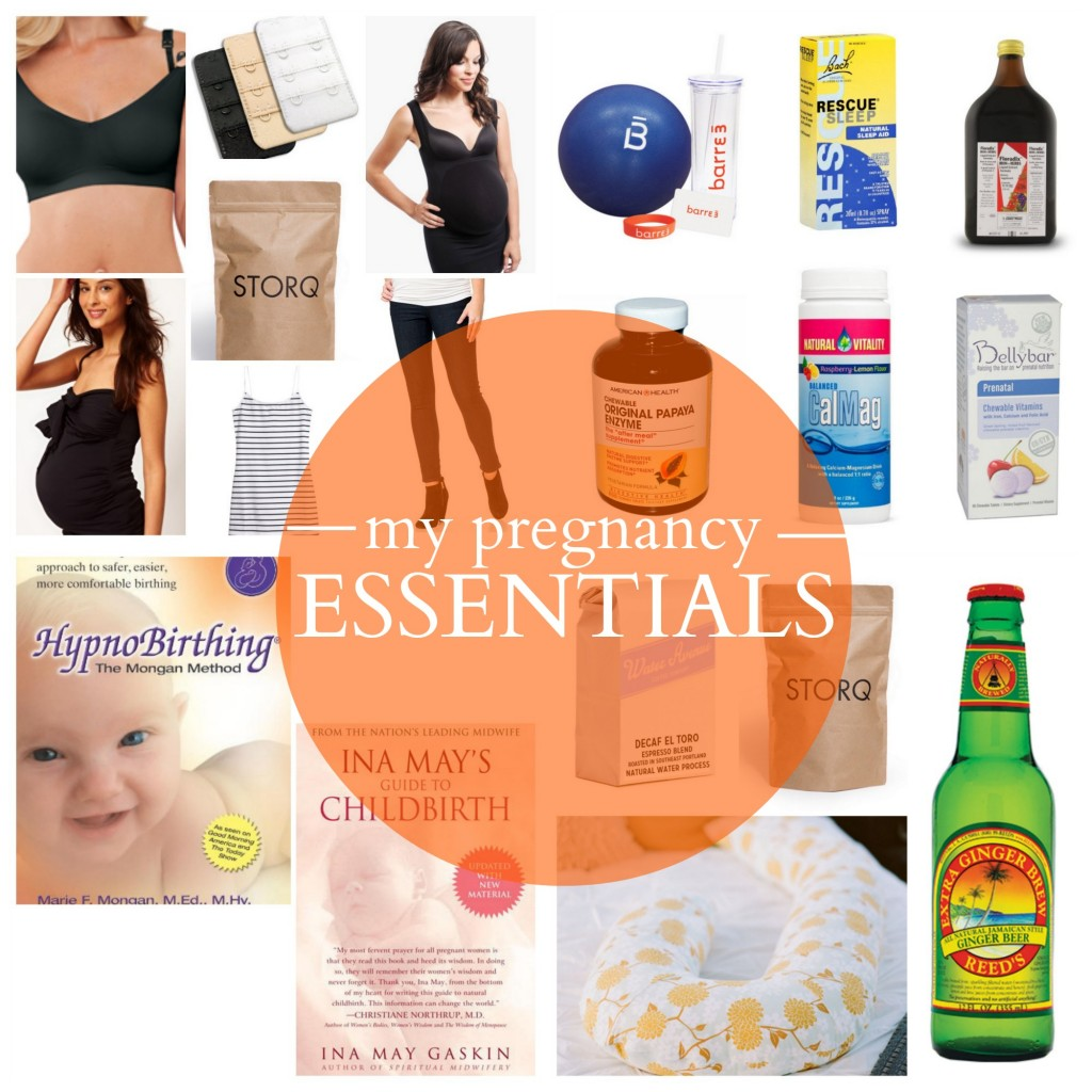 My Pregnancy Essentials // @The Little Things We Do