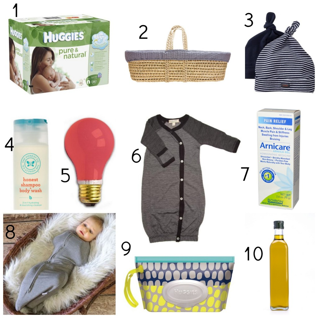 My Birth + Postpartum Essentials For Mama + Baby // @ The Little Things We Do