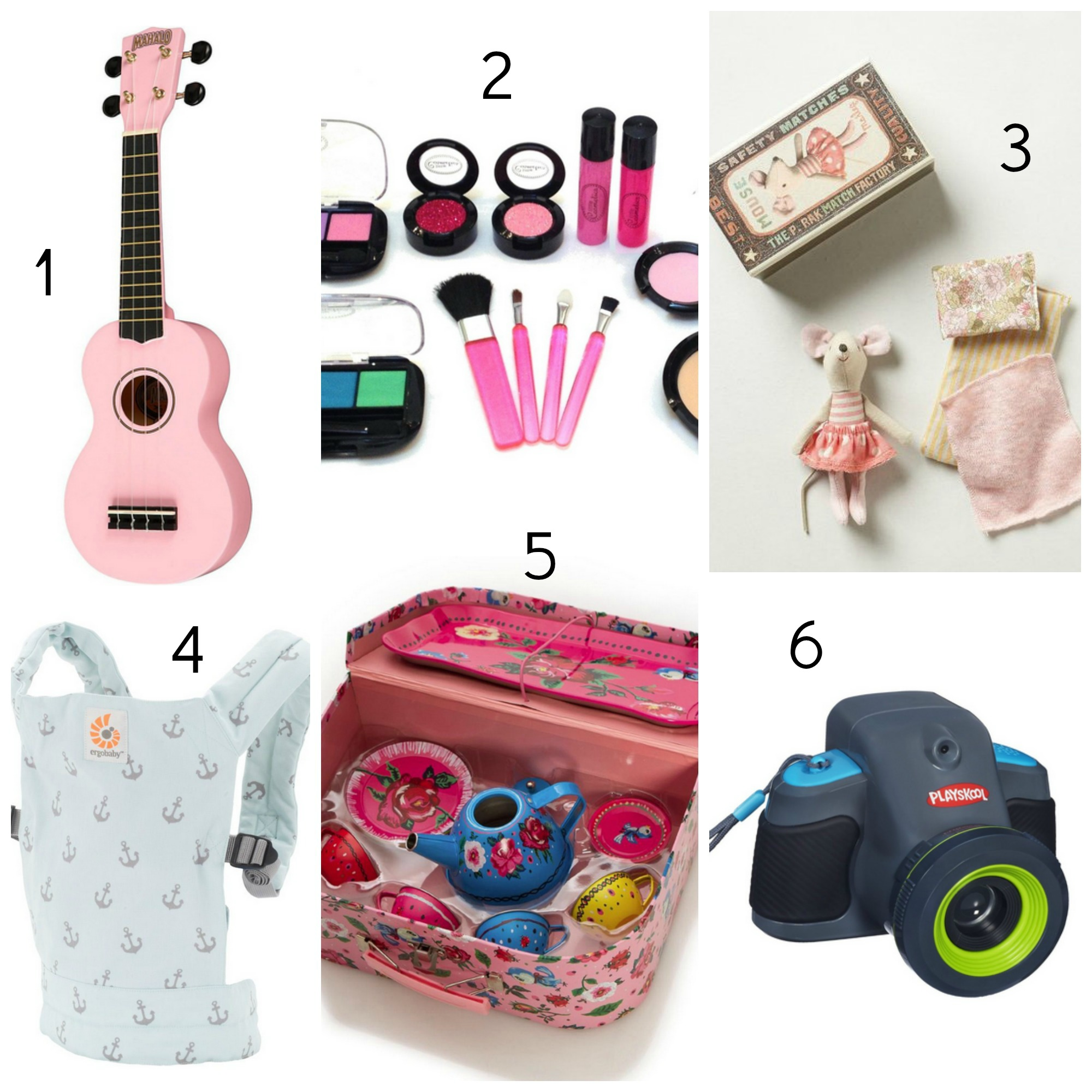 5 Year Old Christmas Gifts: Gift Guide For Little Girls: 3-5 Year Olds
