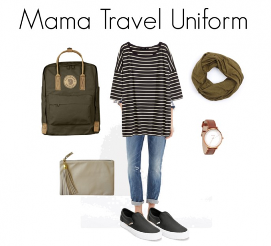 Not Yoga Pants: My Mama Travel Uniform