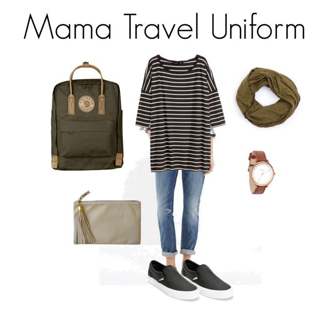 Not Yoga Pants: My Mama Travel Uniform // @ The Little Things We Do