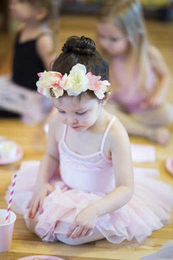 Birthday Ballerinas: Part 2 // @ The Little Things We Do