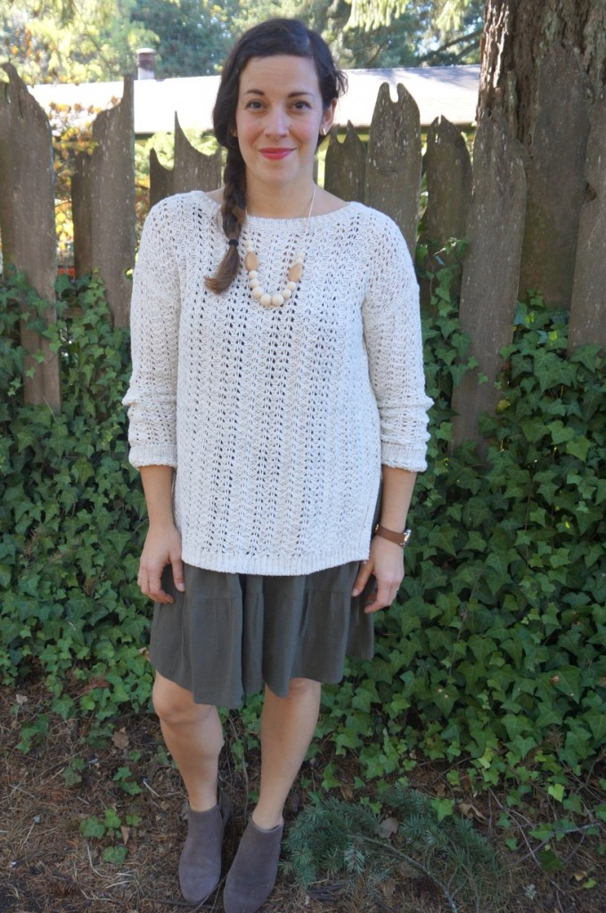 Average Mom Style: My Dress-Up Go To For Fall // via The Little Things We Do
