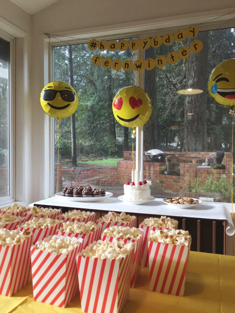 """The Year of the Emoji"" (AKA Fern's 4th Birthday)"