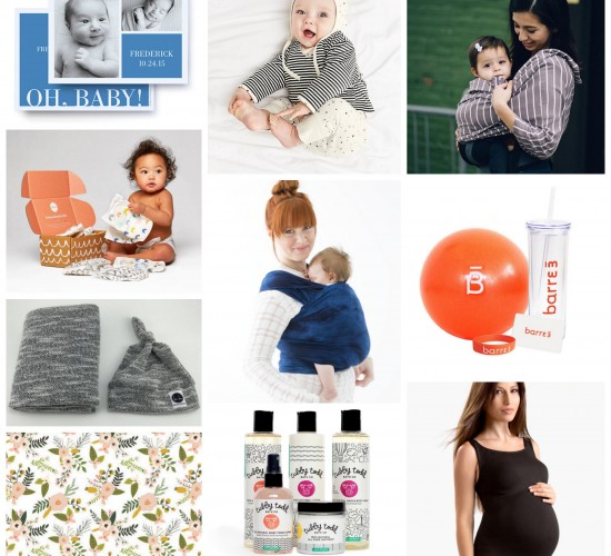 Our Favorite Mama/Baby Things + a GIVEAWAY!