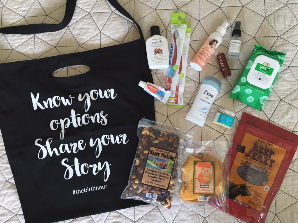What's In My Hospital Bag // via The Little Things We Do