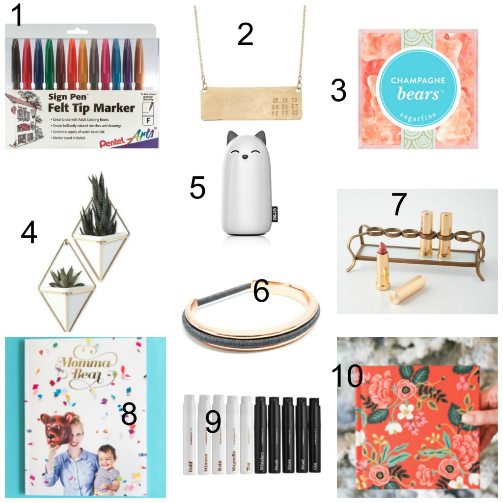 2016 Holiday Gift Guide for Babies // For all the ladies in your life!