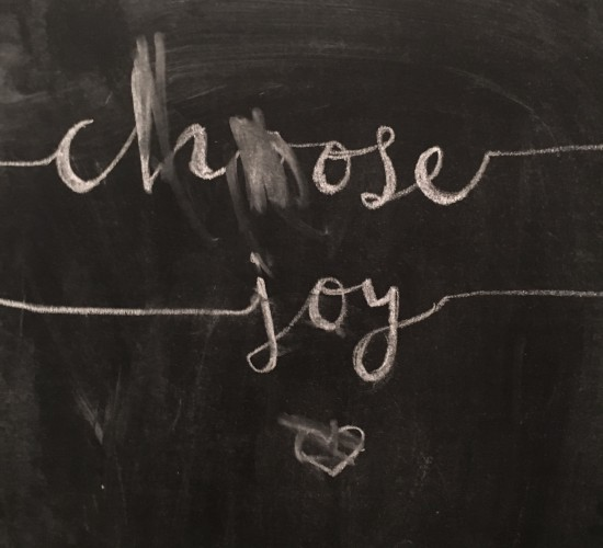 Little Reminders + Choosing Joy