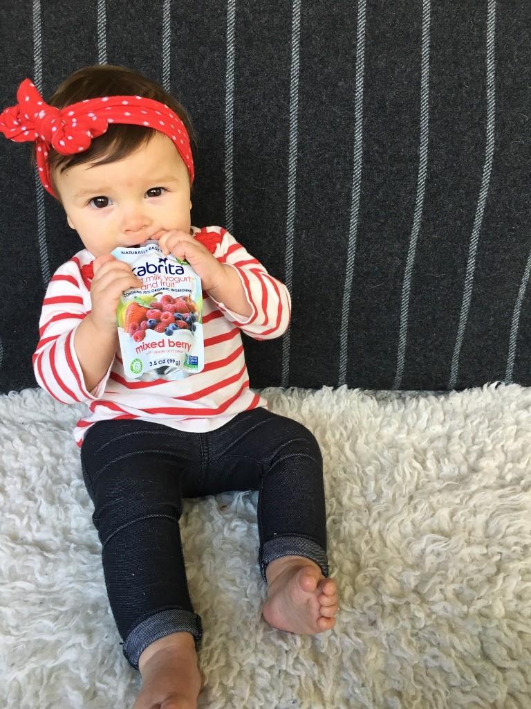Snack Time With Kabrita Yogurt