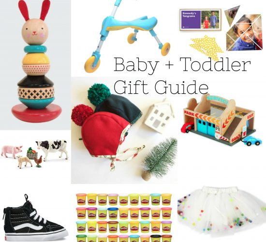 Gift Guide for Babies + Toddlers